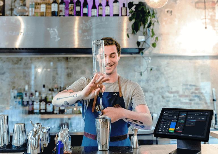 Das Kassensystem für Bars zur Abwicklung unbegrenzter Bestellungen